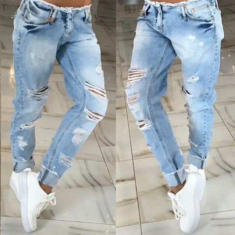 2016 new fashion style high quality summer women jeans low. Black Bedroom Furniture Sets. Home Design Ideas