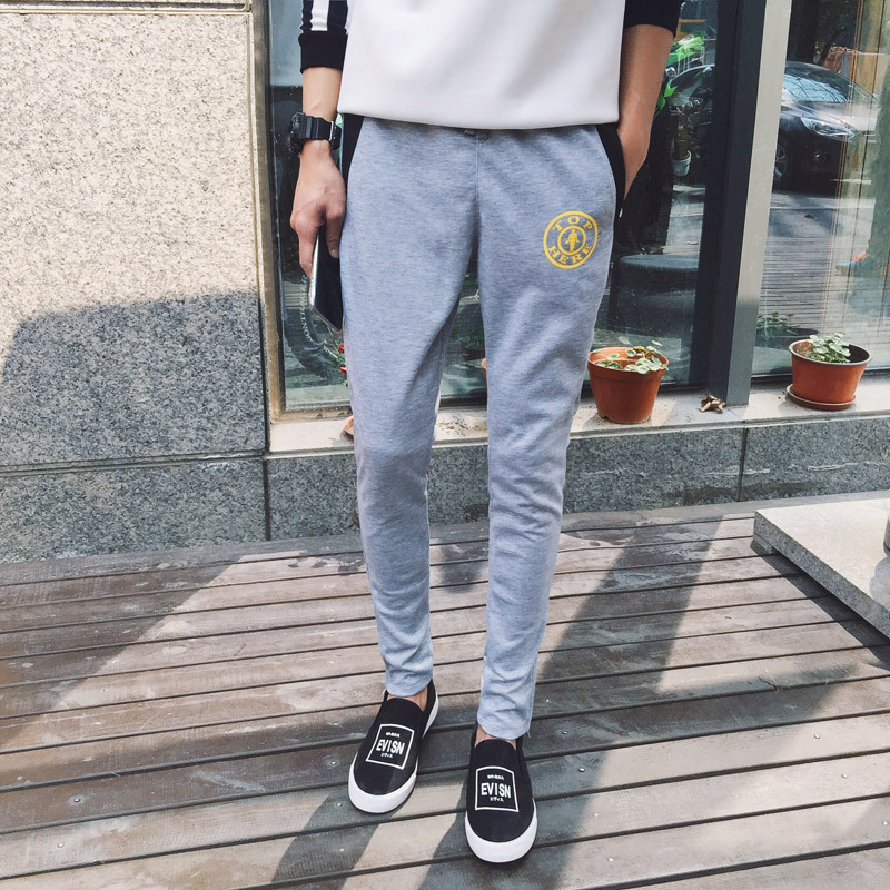 2016 men's sports pants harem pants casual pants outdoor sports men's jogging trousers Loose casual and comfortable sports pants(China (Mainland))