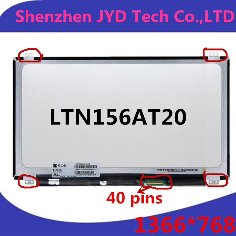 LVDS For ASUS X550C X550E X502 laptop LCD screen B156XW04 V.5 LP156WH3 B156XW03 N156BGE-L41 N156B6-L0D LTN156AT20 LTN156AT30(China (Mainland))