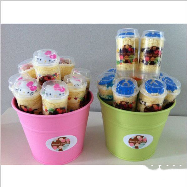 WiseBuy 5Pcs Push Pop Cake Containers Ice Cream Candy Cupcake Stand(China (Mainland))