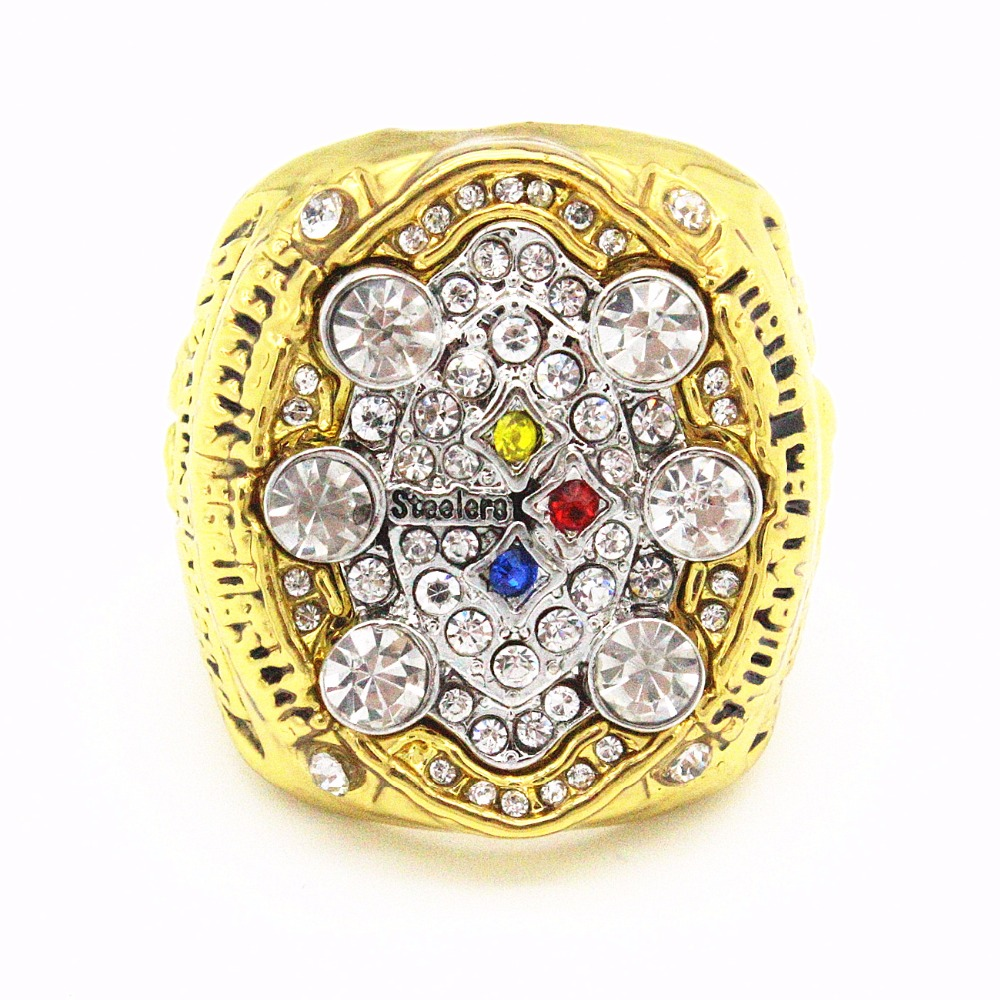 2016 New Production and processing of the ring 2008 Pittsburgh Steelers Super Bowl championship rings wholesale(China (Mainland))