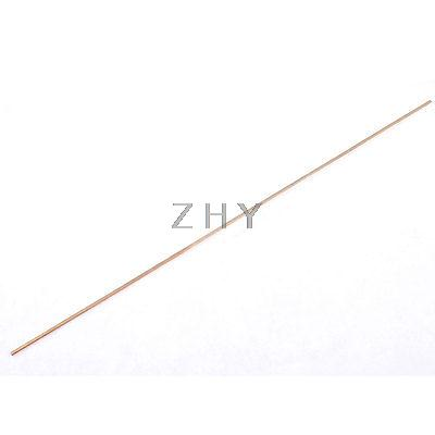 Gold Tone 430mm Long Brazing Copper Welding Rod Electrode(China (Mainland))