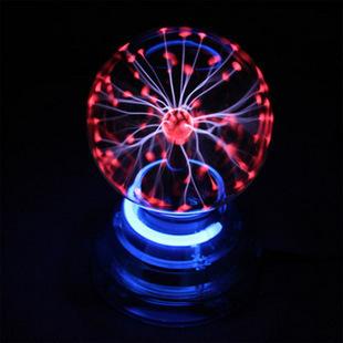 Voice-activated electronic magic ball glow ball lightning ball plasma ball small bee crystal metal bookmark(China (Mainland))