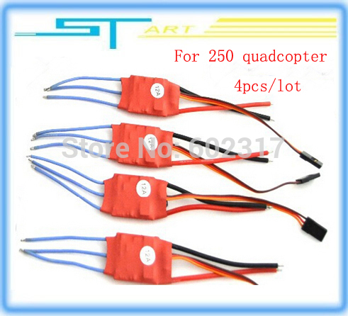 4pcs RC Brushless 10A 12A 20A 30A 40A ESC quadcopter helicopter SimonK program good better faster DIY Part Low shipping(China (Mainland))