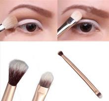 NEW 2015 1PC Blending Double-Ended Makeup Brush Pen Eye Powder Eyeshadow Brush