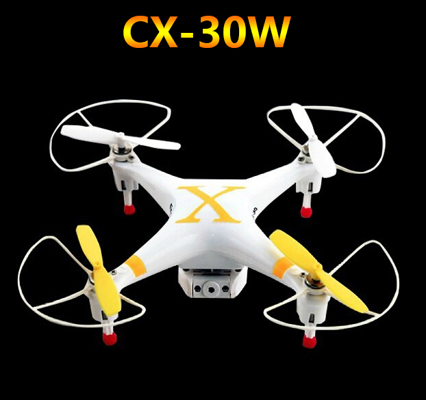Cheerson CX-30W Mini WiFi RC Quadcopter with 6-Axis Gyro / Camera Controlled by iPhone i-helicopter Like Walkera QR W100S(China (Mainland))