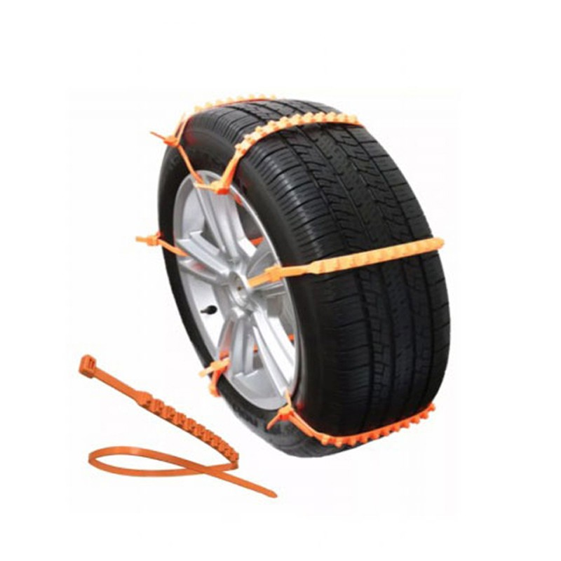 Practical ZipClipGo wheels snow chains anti-skid outdoor for Emergency Aid Snow in mud for cars SUV snow chain for trucks