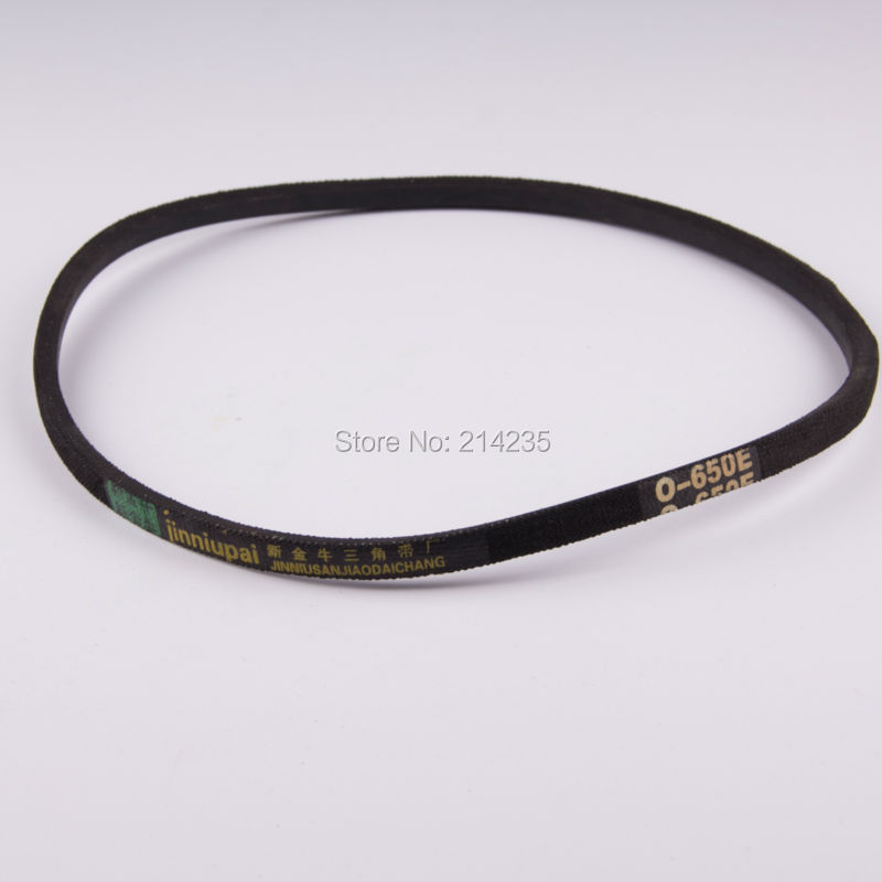 Universal rubber belt O-650E