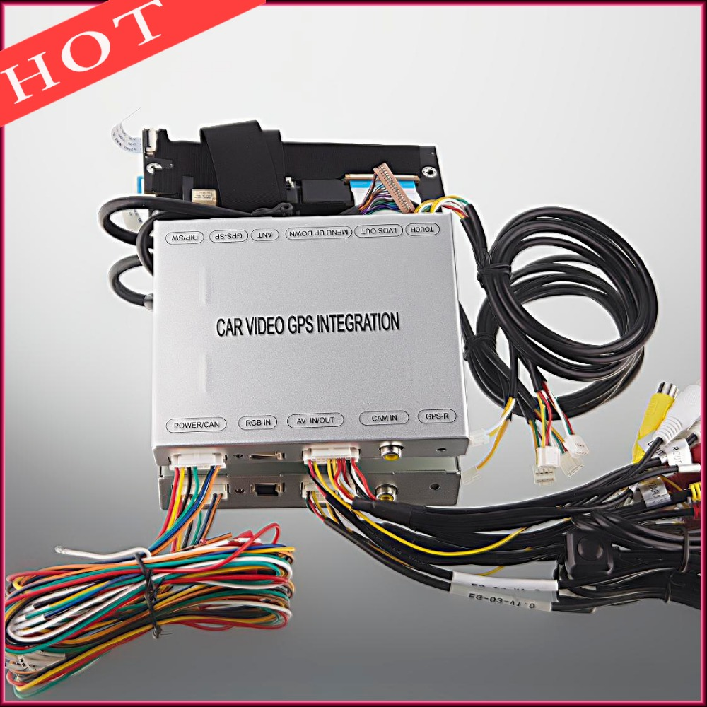Car Video Interface For 2015-2017 Peugeot citroen 2008 308 508 C4 PIC ASSO(China (Mainland))