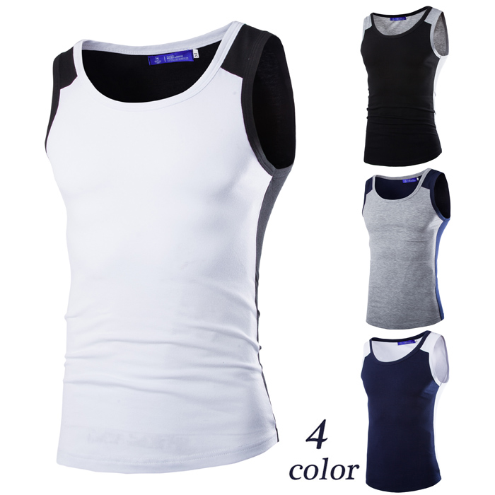 summer style 2015 men tank top sport bodybuilding tank top Gym Clothes sleeveless shirts fitness tee(China (Mainland))