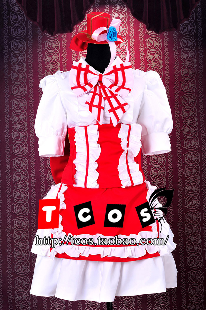 Здесь можно купить  Cosplay Macross F Binary Star Ranka Lee Performance Wear Lolita Dress French Maid Evening Dress Party Costume Free Shipping Cosplay Macross F Binary Star Ranka Lee Performance Wear Lolita Dress French Maid Evening Dress Party Costume Free Shipping Одежда и аксессуары
