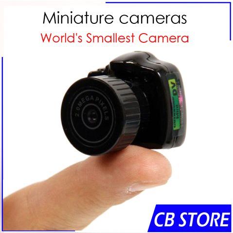 Smallest Mini Camera DVR Portable Pinhole Web cam Camcorder Video Recorder Cool mini camcorders/SPY y2000 Hidden cam(China (Mainland))