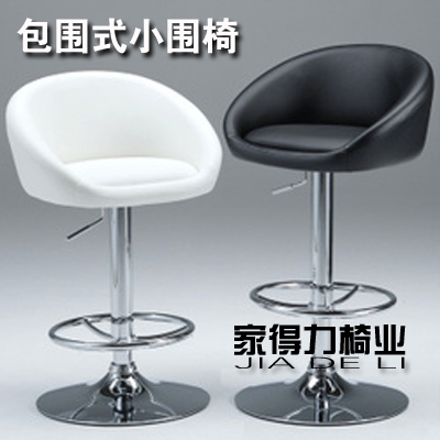 European high stool chair bar chairs around it lift armrest backrest Front cashier<br>