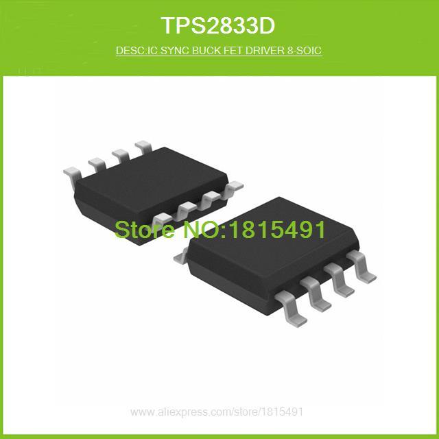 Free Shipping TPS2833D IC SYNC BUCK FET DRIVER 8-SOIC 2833 TPS2833 8-SOIC 10pcs(China (Mainland))