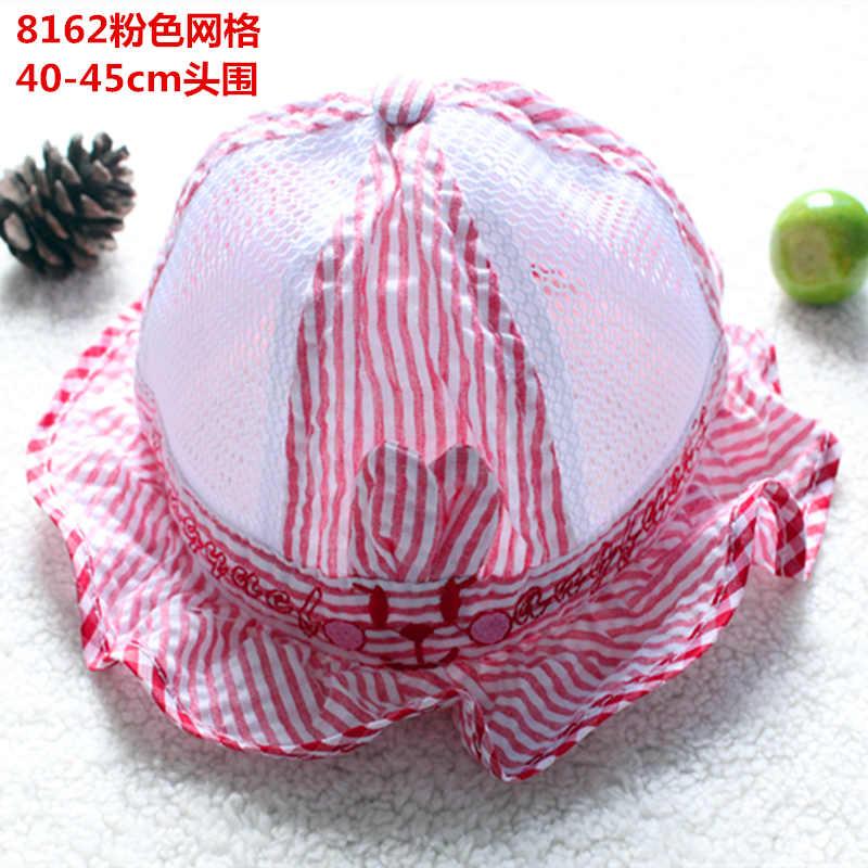 baby girl hats newborn photography Baby Kids Butterfly Bow Basin Cap Pots Hat Cotton Visor baby summer hat bone infantil menina(China (Mainland))