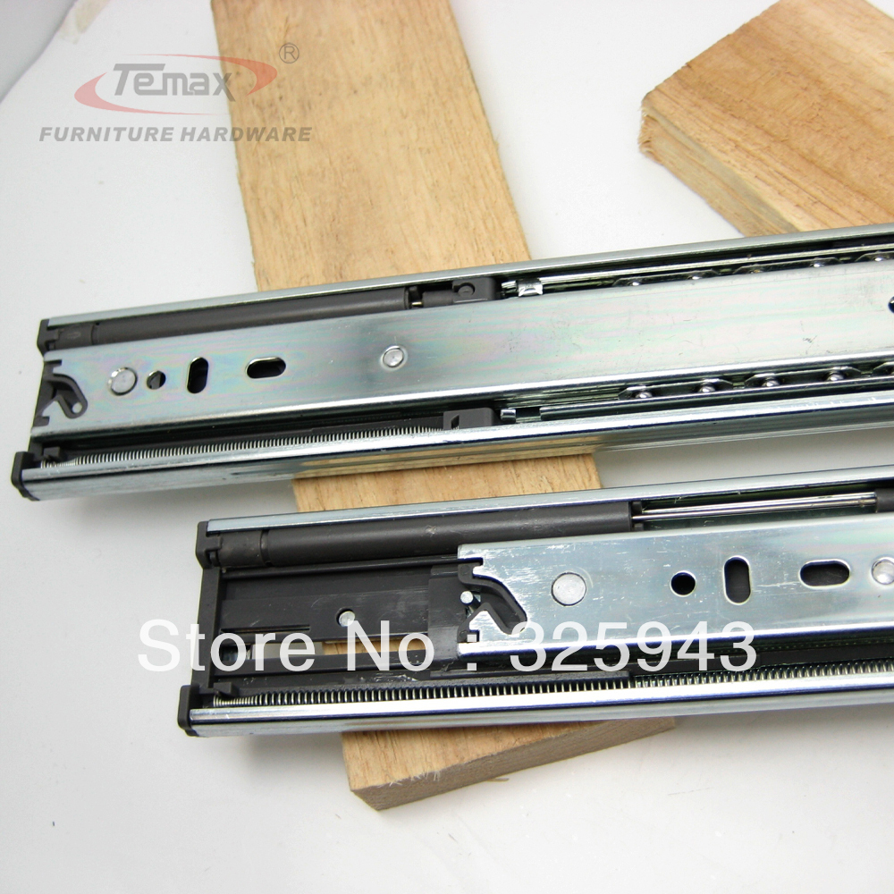 """NEW 20"""" Full Extension steel Ball Bearings Hydraulic Soft Close Drawer Slide Cabinet Furniture Hardware Glides(China (Mainland))"""