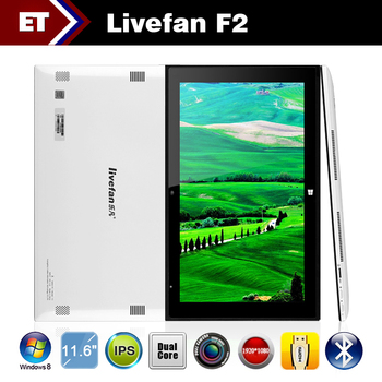 Livefan F2 11.6 inch WP8 Dual core Tablet PC IPS OGS 1920x1080p 4GB RAM 64GB Rom WIFI Bluetooth