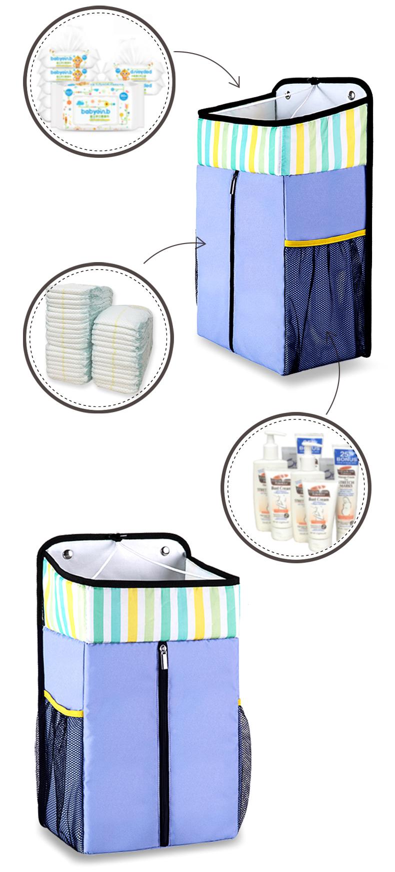 Daballa-Trixx-Baby-Crib-Organizer-Newborn-Playpen-Bed-Crib-Cot-Bedding-Set-Accessories-Toys-Stacker-Nursery-Caddy-for-Baby-Stuff-06