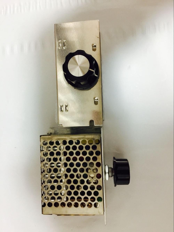 4000 W 220 V Ajuste SCR Voltage Regulator Controle de Velocidade Do Motor Dimmer Termostato