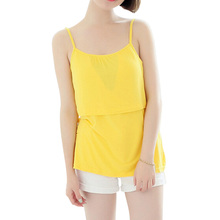 Maternity Wear Modal Breastfeeding Tank Camis Bravado Nurisng Tank Nursing Shirts Pregnant Women Vest Tops 6 Colors One Size(China (Mainland))