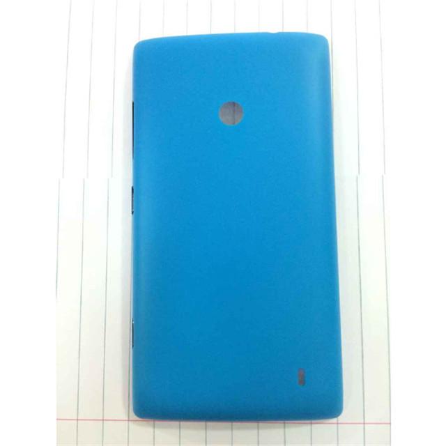 Здесь можно купить  Original Case For Nokia Lumia 520 Phone Protective Shell Battery Housing Door Back Cover Funda  With Side Button Capa Para 50pcs  Телефоны и Телекоммуникации
