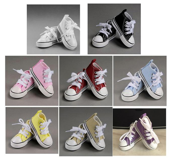 BJD doll shoes shoes canvas shoes 1/4 shoes (8 colors)<br><br>Aliexpress
