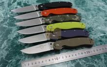 New Ontario RAT Model 1 Big Size Folding knife AUS-8 Blade 6 colors G10 handle High Quality Original Box Camping Survival EDC