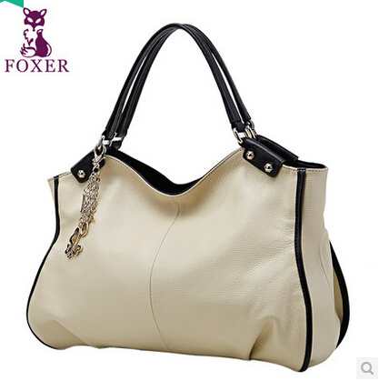 2014 women genuine leather handbags simple style shoulder bags handbags women famous brand tote bolsas femininas