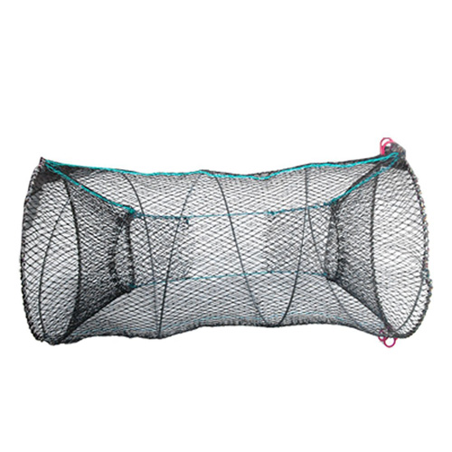 USA Stock! Black Lobster Crab Crawfish Shrimp Trap Cage Fishing Keep Catching Net Fisher(China (Mainland))