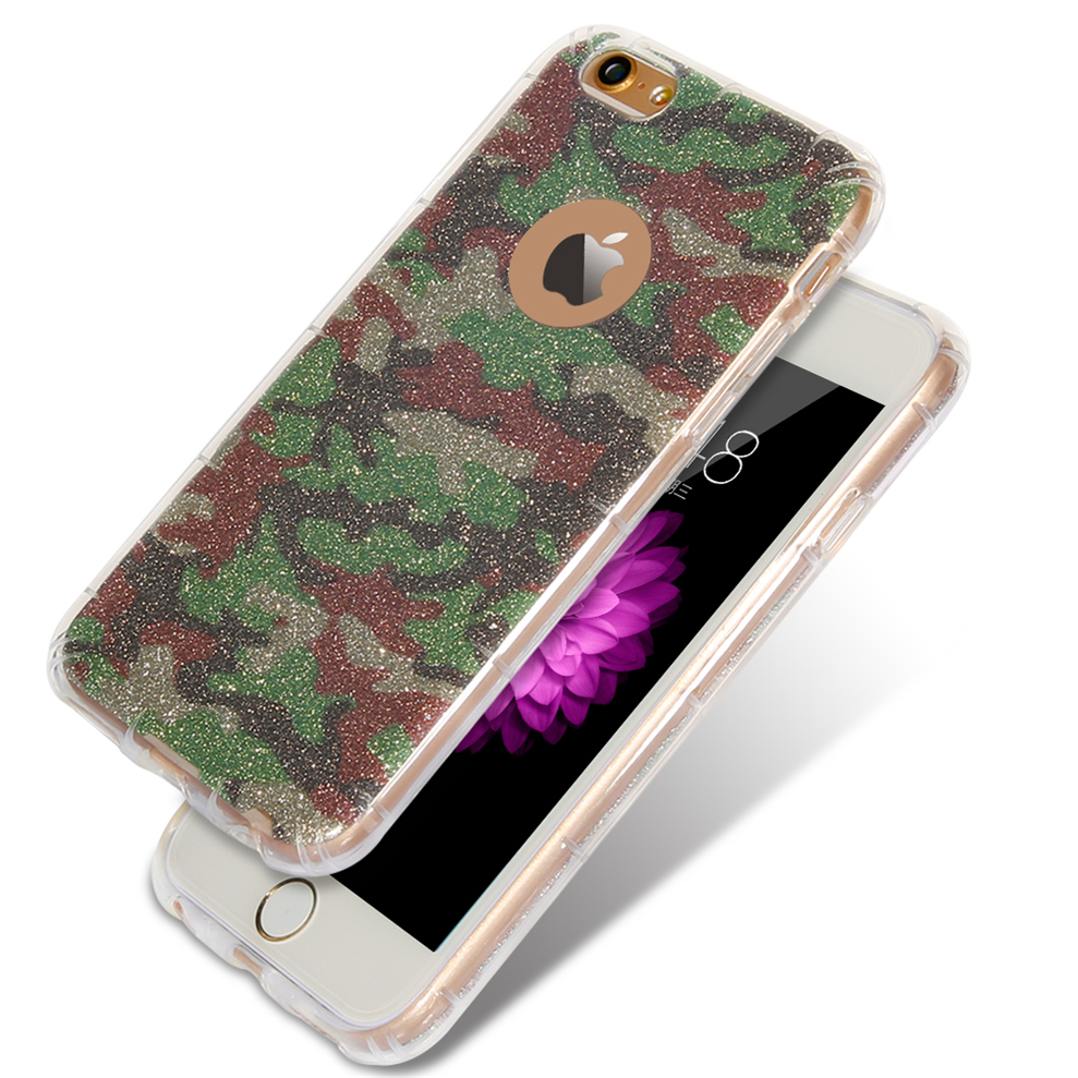 Bling Case For iphone 5 5s SE Glitter Powder Rainbow Soft TPU Mobile Phone Case For iphone 5 5s 4.0inch Back Cover Bags(China (Mainland))
