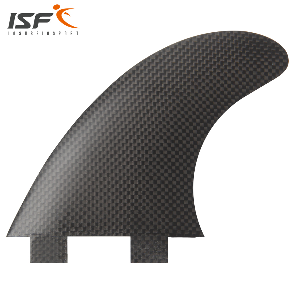 Insurfin Surfboard Fins Thruster tri fin Set (3) FCS Compatible Carbon Fiber Large Surf Fin(China (Mainland))