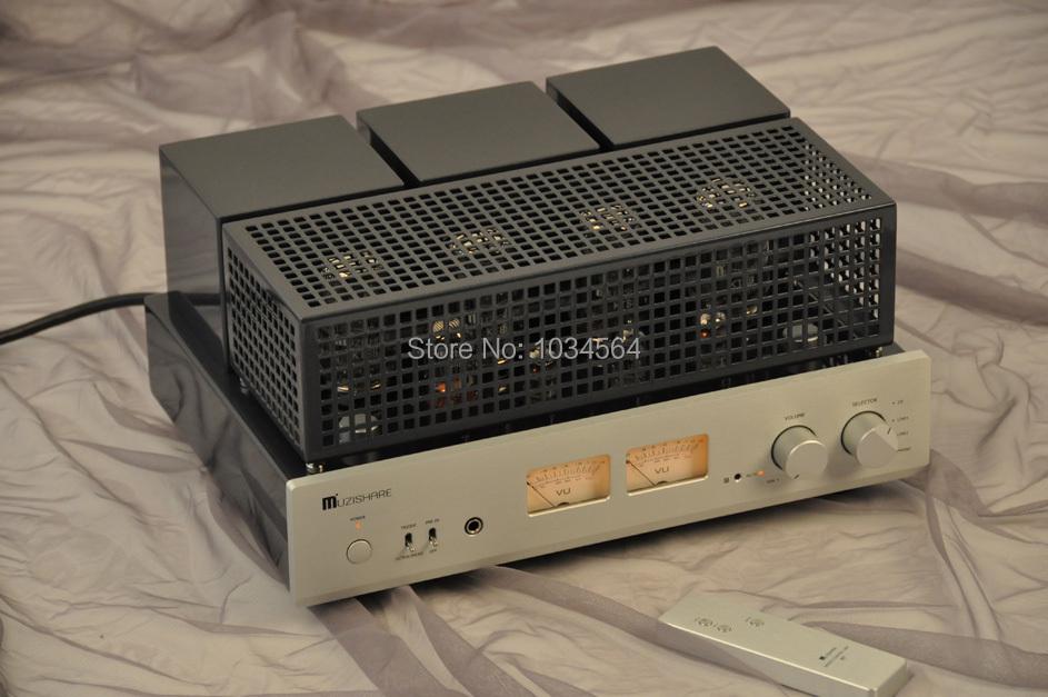 (Hot sale high-quality)MUZISHARE X7 Integrate rectifier KT88 power tube amp multicenter amplifier 45W*2(100% brand new)<br><br>Aliexpress