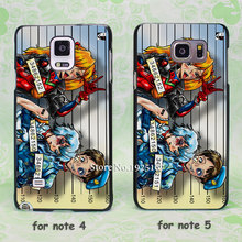 Neon Genesis Evangelion offenders hard black Case Cover for samsung galaxy note 2 3 4 5 s6edge plus