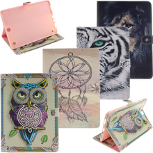 For Samsung Galaxy Tab A 9.7′ T550 T555 T551 Case Painting Style Pu Leather Stand Case Cover For Samsung Tab A 9.7′ inch Fundas