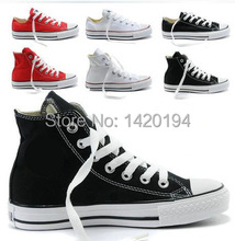 Hot Selling Fashion Classic Leisure High-Top Star Canvas All Shoes Size EUR 35-45(China (Mainland))