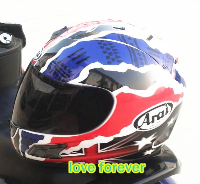 2016 Arai helmet RX 7 RR5 DUHAN Motorcycle helmet Run helmet Racing helmet Full face keep warm take off lining(China (Mainland))