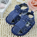 Baby Shoes First Walkers Solid Cotton Toddler Infant Kids Boys Girls Denim Shoes
