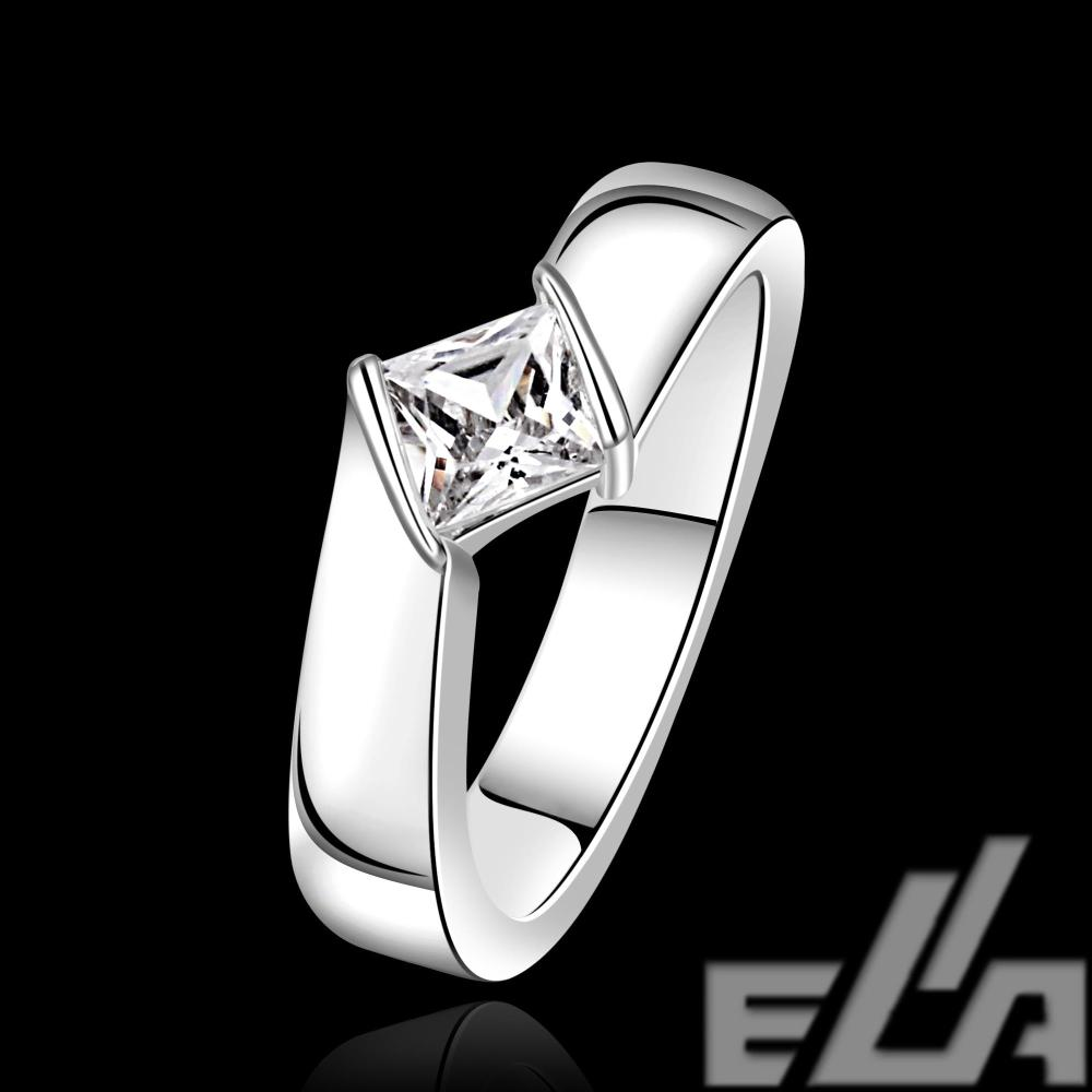 Гаджет  wholesale jewellery korean NEW designer 925 silver plated anel feminino zirconia synthetic gemstone rings None Ювелирные изделия и часы