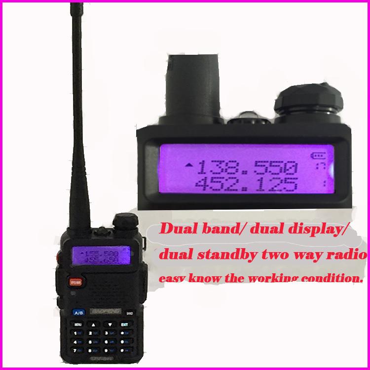 HOT Walky Talky Professional uv5r Interphones Baofeng UV-5r For pofung Handy Comunicador Radio Walkie Talkie Long Range CB Radio(China (Mainland))