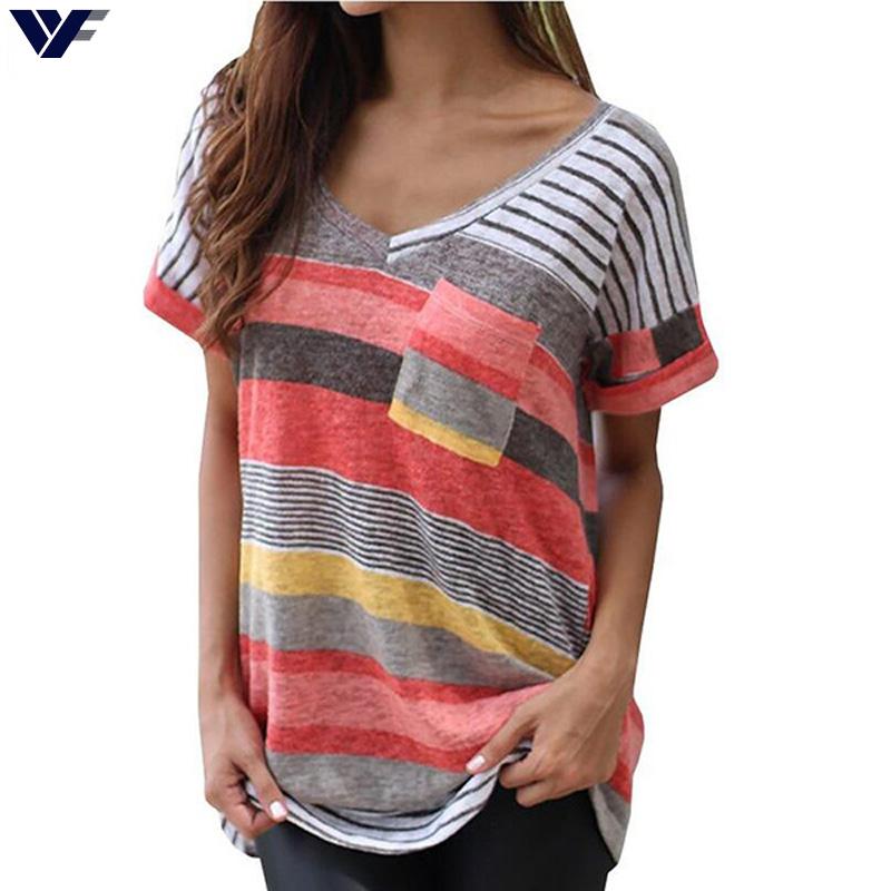 Plus Size 4XL Fashion Brand T Shirt Women Harajuku Printed T-shirt Tops Tee Shirt Femme Pocket Casual T-shirt For Women Blusas(China (Mainland))