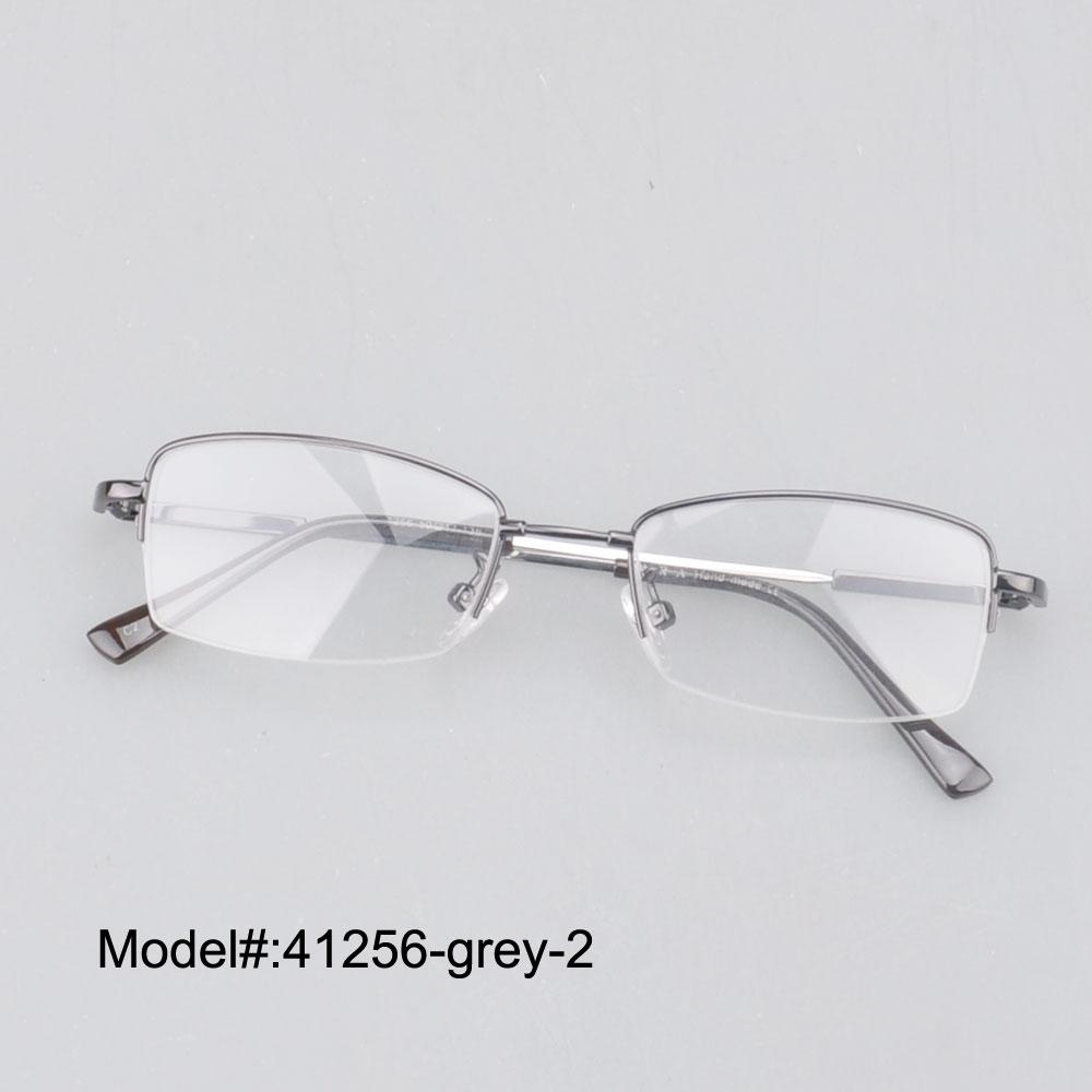 Titanium Half Rim Eyeglass Frames : Aliexpress.com : Buy 41256 half rim men memory titanium ...