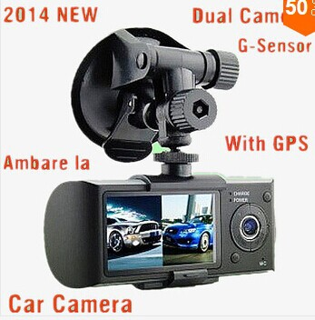 "2014 NEW mini X3000 R300 HD 1080P GPS Cam Video Camcorder Car Camera Recorder DVR 2.7"" LCD Dual G sensor Free shipping(China (Mainland))"