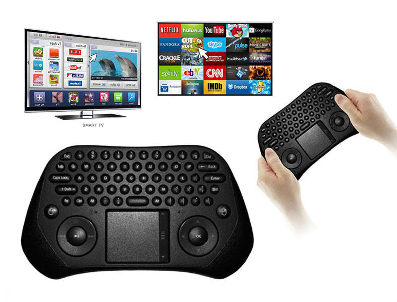 MEASY GP800 2.4GHz Wireless Mini Fly Air Mouse USB Keyboard Touchpad For Android TV Box Smart TV PC Computer Laptop Projector(China (Mainland))