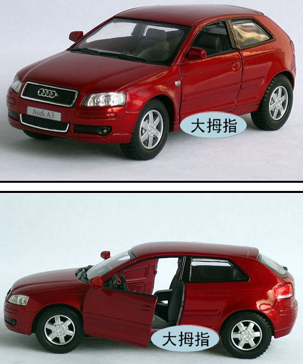 New AUDI A3 1:32 Alloy Diecast Car Model Toy Collection Free Shipping(China (Mainland))