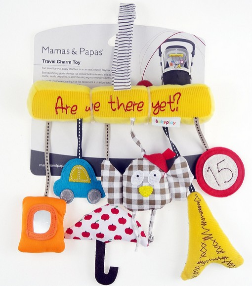 Mamas&Papas Baby Travel Charm Toy Hanging toy Stroller Baby Rattle Toy(China (Mainland))