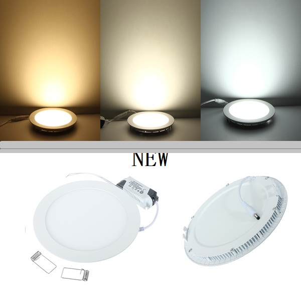 Ultra thin LED Panel Light Recessed LED Ceiling Light Spot Down Light with driver(China (Mainland))