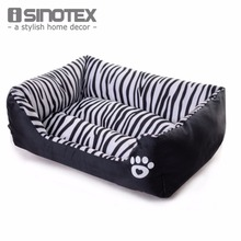 Waterproof Pet Bed Zebra Patterns Sweety Dog House Moistureproof Keep Clean Pets Bed Home For Cats(China (Mainland))