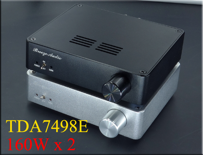 Breeze Audio TDA7498E digital audio amplifier 160Wx2 amplifier class d<br><br>Aliexpress