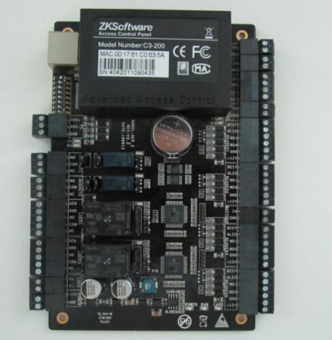 ZKsoftware C3-200 2 Door Professional RFID RFIC Card Access Control TCP/IP 485(China (Mainland))