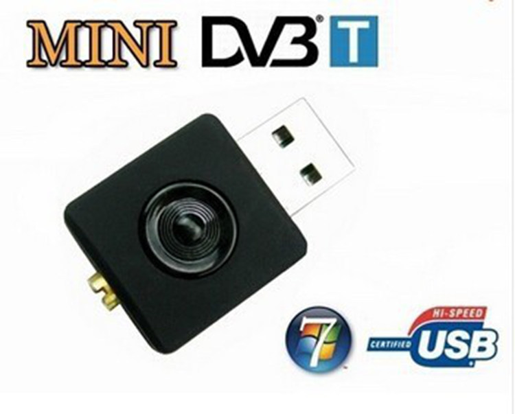Mini USB DVB-T DAB Digital TV Tuner Receiver Dongle Stick RTL-SDR Realtek RTL2832U & R820T MCX Input(China (Mainland))